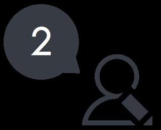 填寫申貸需求,提供您的個人銀行資料、收入證明,以及社群資料